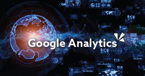 Google analytics blog header