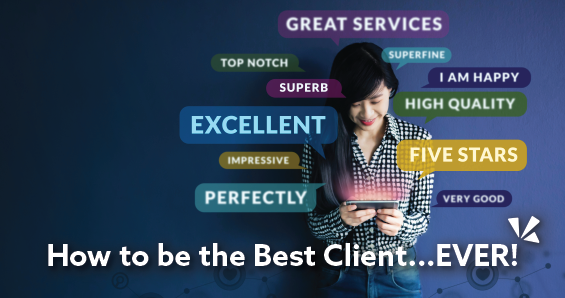 How to be the best client ever blog header