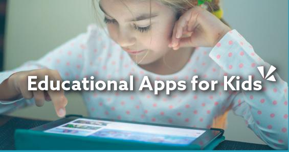 Educational apps for kids blog header
