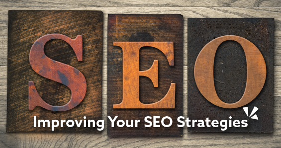 Improving your SEO strategies blog header