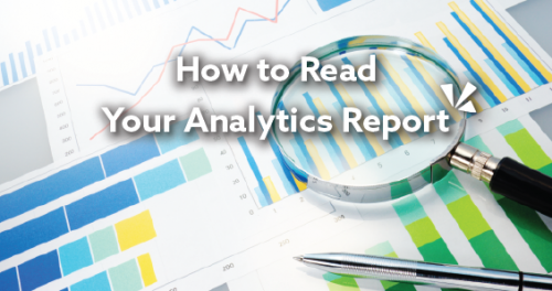How to read your analytics report blog header
