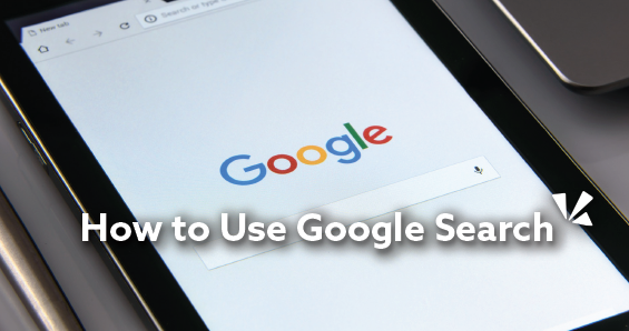How to use google search blog header