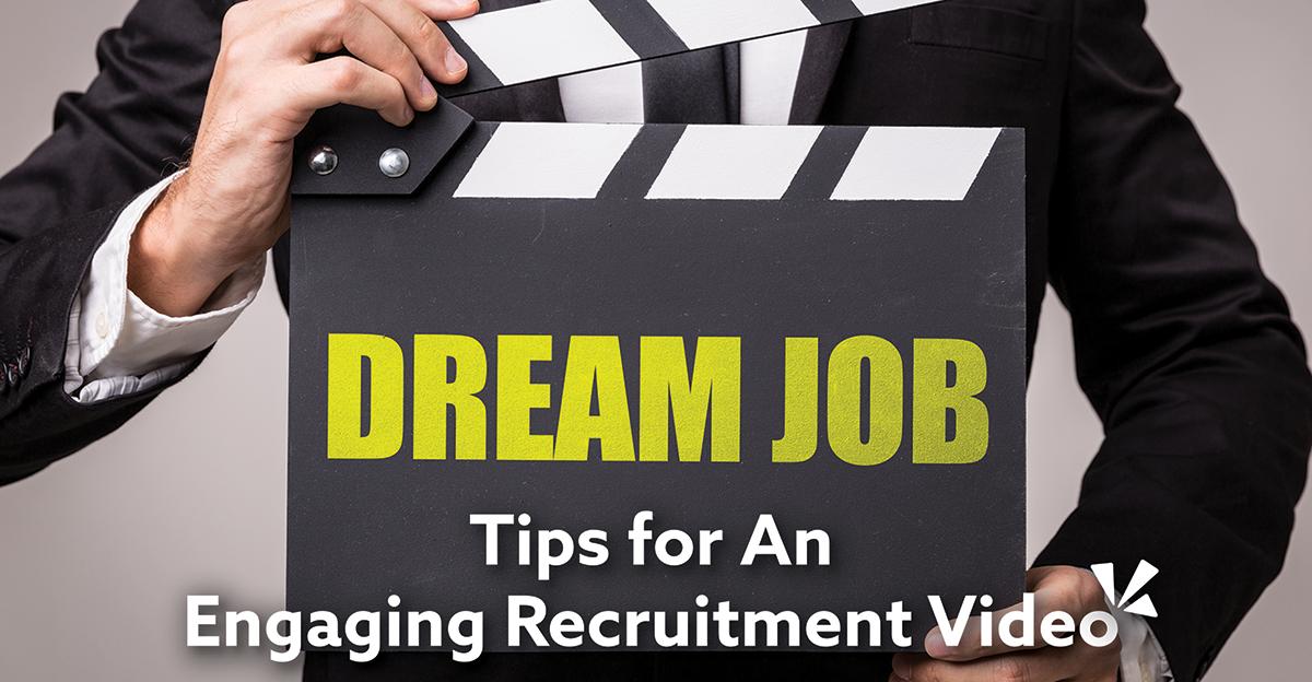 Tips for an engaging recruitment video blog description