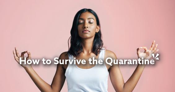 How to survive the quarantine blog description