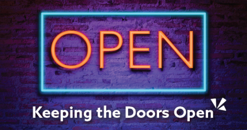Keeping the doors open blog description