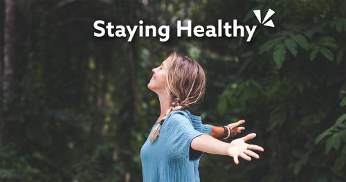 Staying healthy blog description