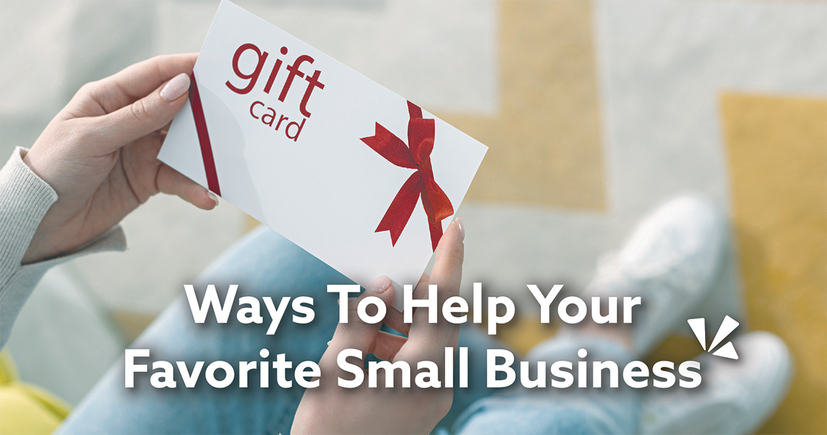 Ways to help your favorite small business blog description
