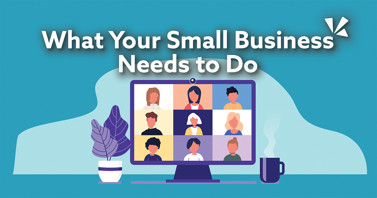 What your small business needs to do blog description