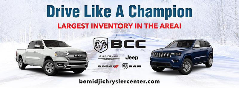 Bemidji Chrysler Center drive like a champion Facebook cover photo