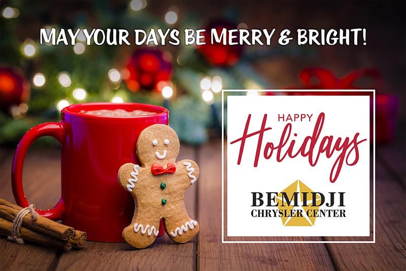 Bemidji Chrysler Center happy holidays Facebook post