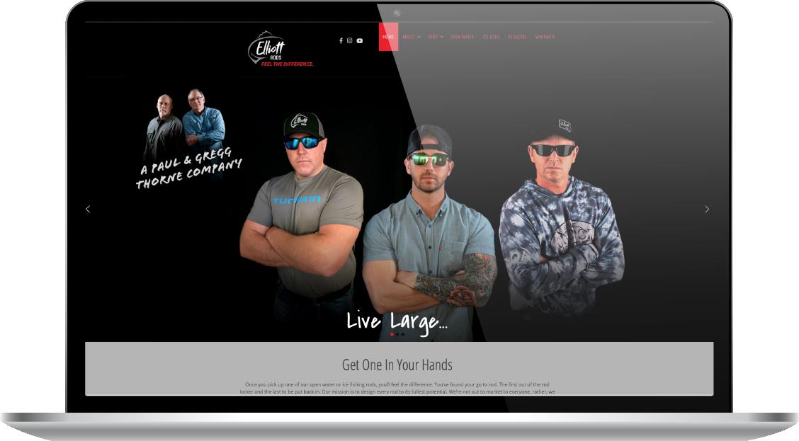 Elliot Rods website