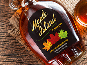 maple island package design exmaple
