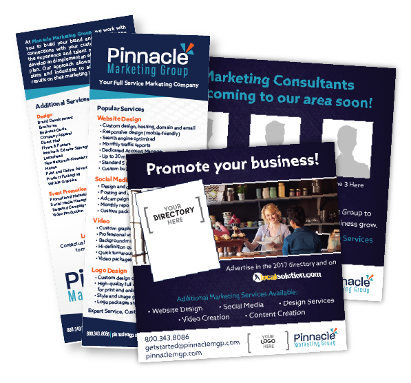 pinnacle marketing kit promo samples