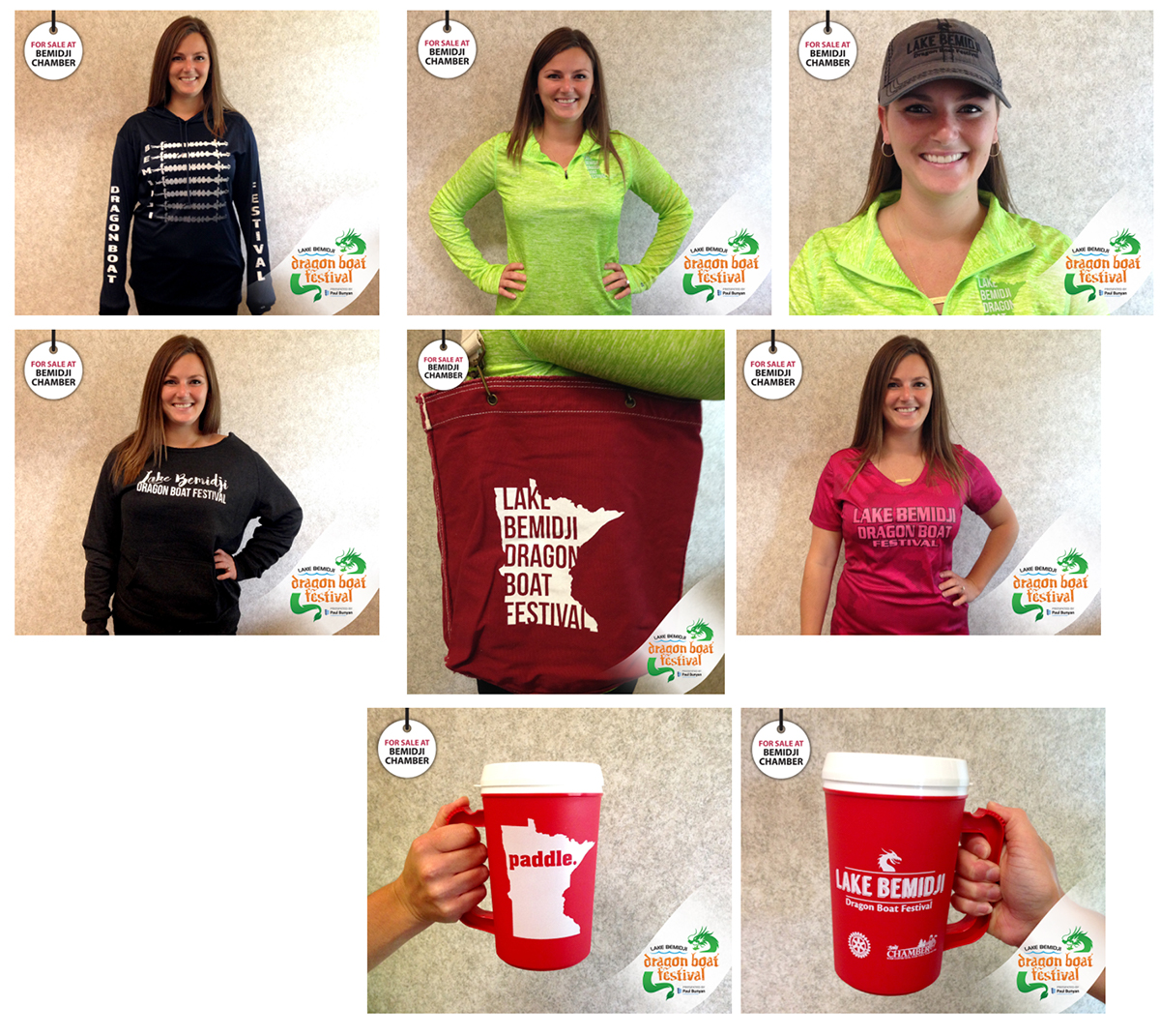 Dragon Boat clothing and merchandise designs