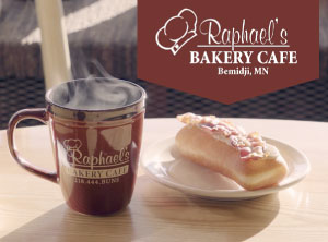 Raphael's Bakery feature image with logo