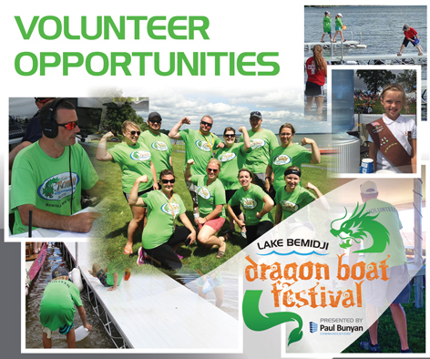 Dragon Boat Festival email invite for volunteers