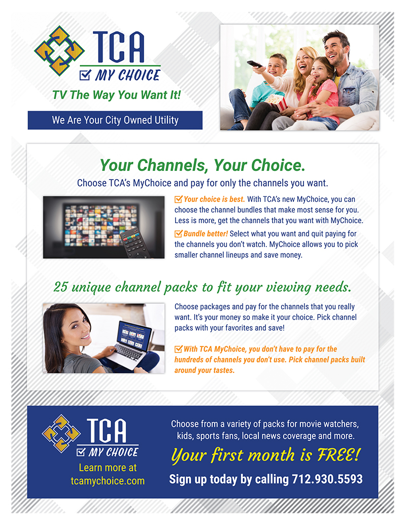 TCA my choice flyer