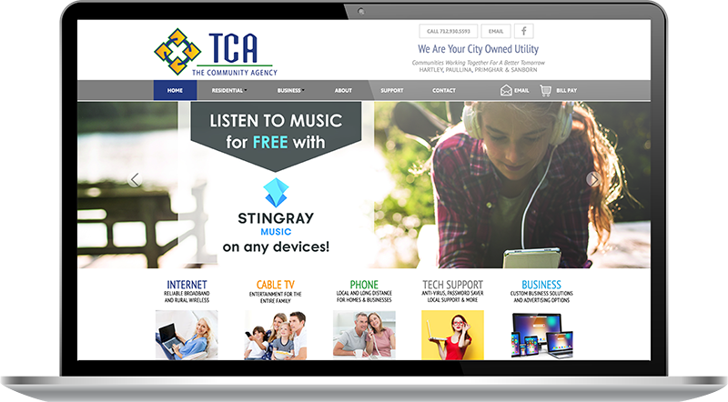 TCA website