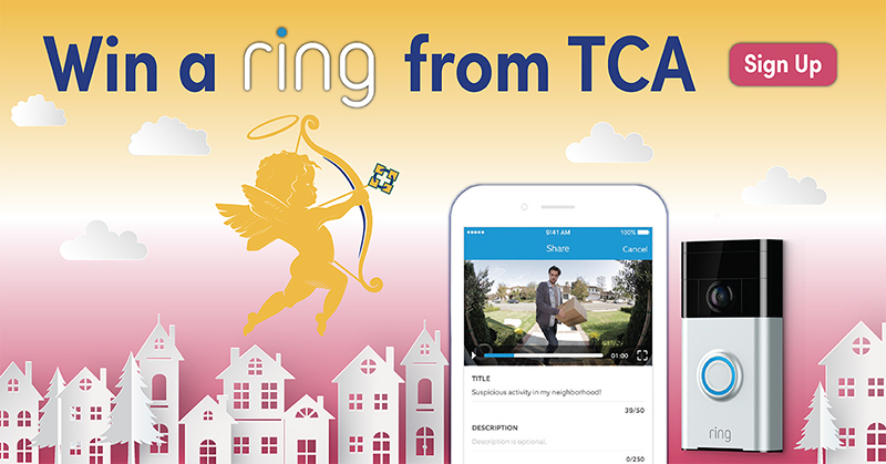 TCA wing a ring Facebook campaign