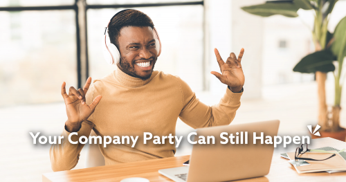 Your company party can still happen - blog header