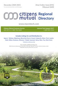 Citizens mutual regional telephone directory