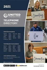 United Communications telephone directory
