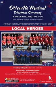 Ottoville Mutual telephone company directory