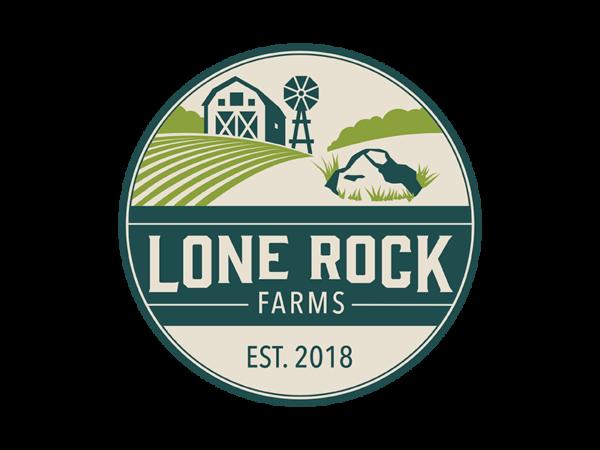 lone rock farms logo