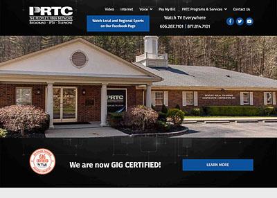 Peoples Rural Telephone Cooperative website homepage