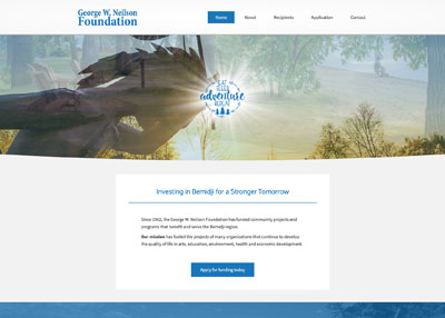George W. Neilson Foundation website home page